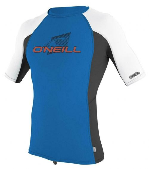 O'NEILL BOYS RASH TOP.NEW SKINS UPF50+ SUN PROTECTION CREW VEST T SHIRT 9S 73 G7